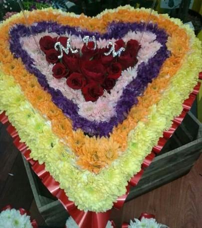 bespoke funeral tribute