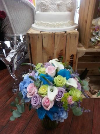 brides vintage wedding bouquet