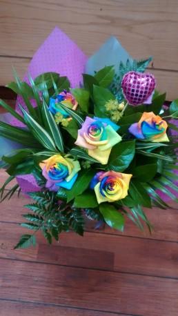 Rainbow cluster