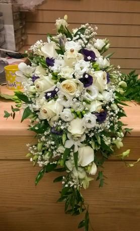 Brides shower wedding bouquet
