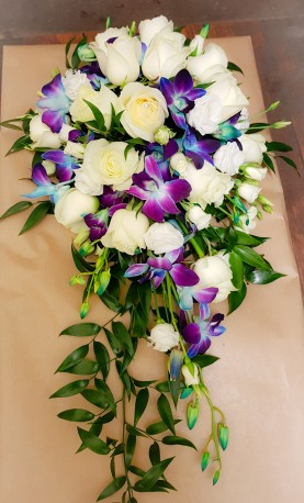 Singapore and rose bridal Bouquet