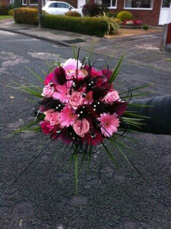 funky bridal bouquet