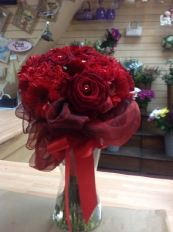 bridal head to head bouquet