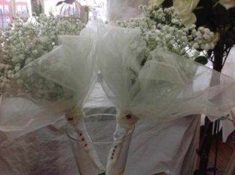 Adult vintage bridemaids bouque