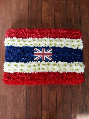 Thailand /Union Jack flag