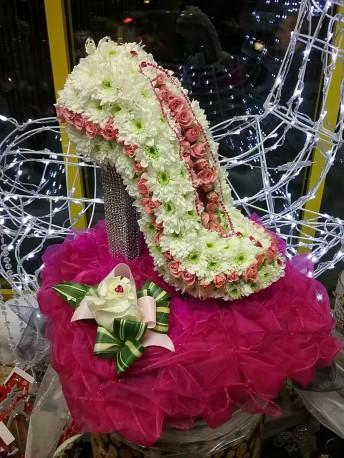 Floral Stiletto Shoe