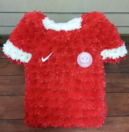manchester united football shirt