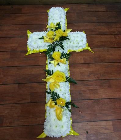 Lemon and white cross
