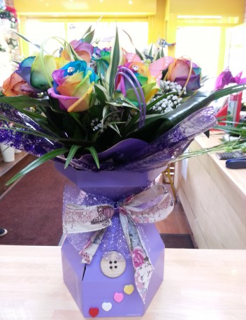 Rainbow floralbox
