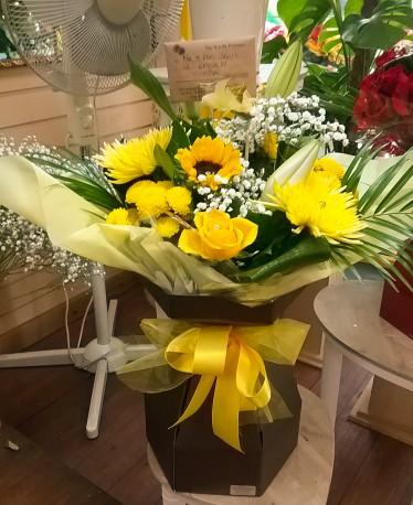 Lemon Prestige Floral-Box