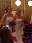 brides cluster bouquets