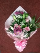 pink cut flowerrs