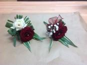 wedding rose buttonholes