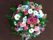 mixed posy pad