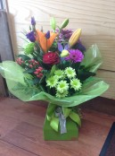 rich coloured floralbox