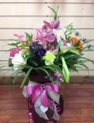 Prestige floral box of seasonal flowers