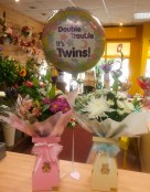 Baby floral box and balloon