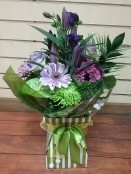 green and purple delight